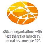 ERP i pro mensí organizace fakta