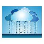 Cloudové API mrak s ječničkami a nulami