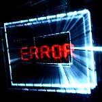 error top 10 selhání SW 2012