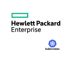 hewlett packard enterprise kubernetes logos