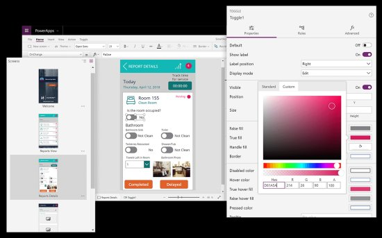 Microsoft Canvas apps